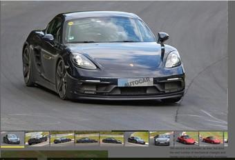 Porsche : bientôt les 718 Cayman et Boxster GTS #1