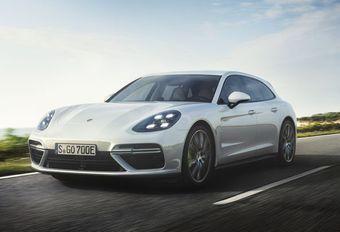 Porsche Panamera Turbo S E Hybrid Sport Turismo #1