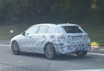 La future Mercedes Classe A sur la E411 #1