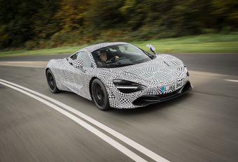 McLaren BP23 : le mulet de sortie #1