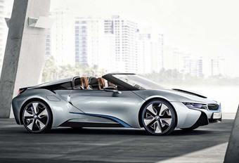 BMW i8 Roadster: elektrisch rijbereik verdubbeld #1