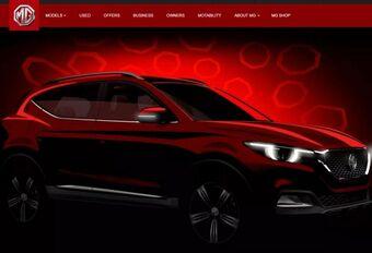 MG XS : un nouveau SUV compact #1