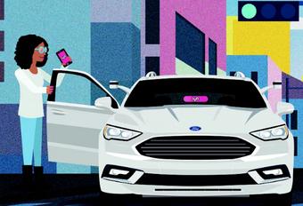 Ford werkt met Lyft aan zelfstandige auto #1
