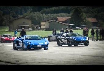 Course entre V12 italiens lors d'un rallye de GT et sportives #1