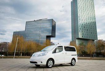 Nissan e-NV200/Evalia : 60 % d'autonomie en plus #1