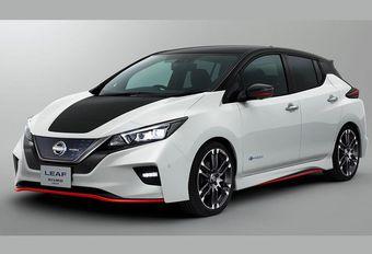 Nissan Leaf al in Nismo-kostuum #1