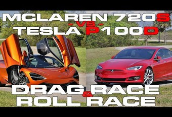 McLaren 720S vs Tesla Model S: de eer van de benzinestokers gered #1