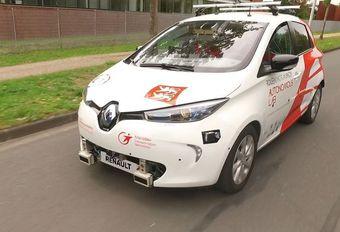 Renault : des Zoé autonomes en partage à Rouen #1