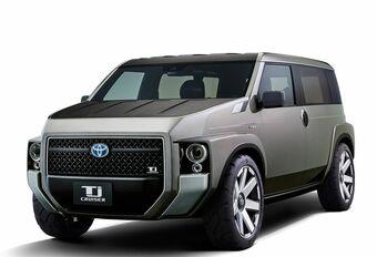 Toyota Tj Cruiser: tussen SUV en busje #1