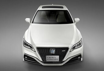Toyota Crown Concept: Japanse parel #1