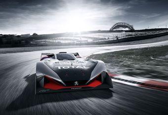 Peugeot L750R Hybrid Vision Concept: voor op je scherm #1