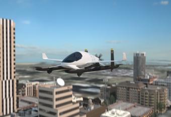 Vliegende auto: Boeing officieel in de race #1