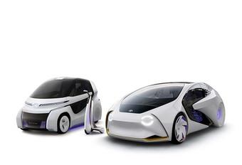 Toyota Concept i-Ride: elektrische en zelfstandige stadsauto #1