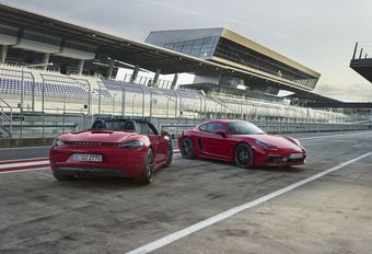 Porsche 718 GTS : plus sportives #1