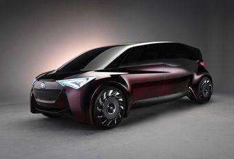 Toyota Fine-Comfort Ride: zeszitter op waterstof #1