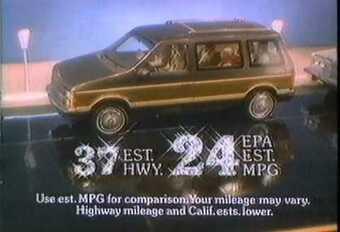 1984 : la magie des débuts du monospace #1