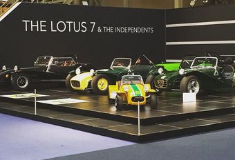 Lotus Seven in Autoworld #1