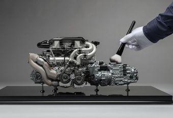 Modèle réduit 1/4 du W16 de la Bugatti Chiron #1