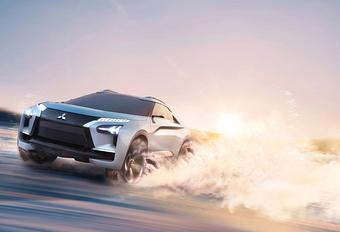 Elektrische Mitsubishi e-Evolution geeft nieuwe richting aan #1