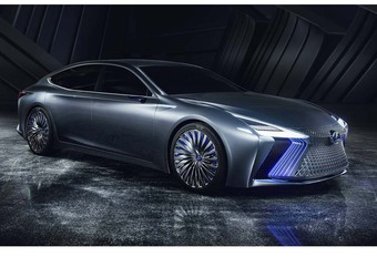 Lexus LS+ Concept: met geïntegreerde chauffeur #1