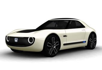 Honda Sports EV Concept: belofte van een kleine sportwagen #1