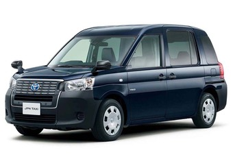 Toyota JPN Taxi: elektrische London Taxi #1