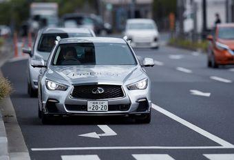 Nissan test autonoom prototype in Tokio #1