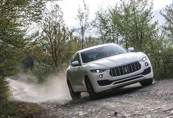 Maserati : un second SUV d'ici 2020 #1