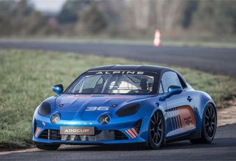 Alpine A 110 Cup : version compétition #1