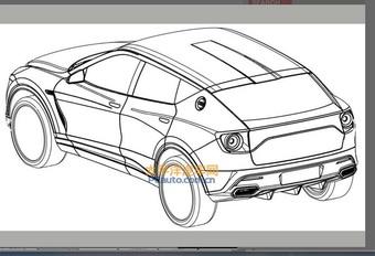 Lotus: eerste tekeningen van SUV #1