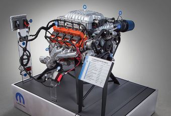 Le V8 Hemi Hellcat vendu en caisse #1