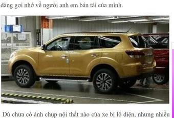 Nissan : retour du Pathfinder (en Asie) ? #1