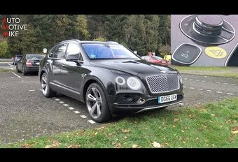 Video – Bentley Bentayga hybride op de Nürbrugring #1
