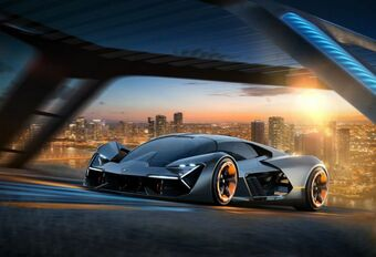 Lamborghini Terzo Millennio: zuiver elektrisch #1