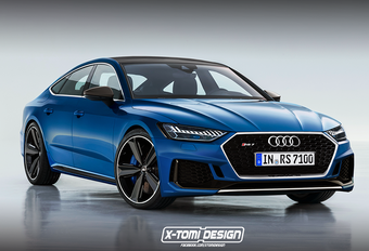 Grijpt Audi RS7 Sportback naar hybride aandrijfgeheel? #1