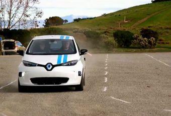 Une Renault autonome réussit les manœuvres d'évitement #1