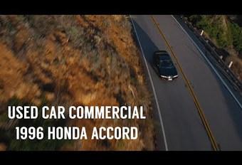 Annonce vidéo hors norme pour vendre une Honda Accord #1