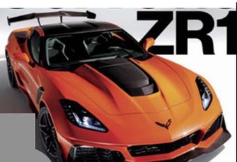 Corvette ZR-1 2018 : 750 ch ! #1