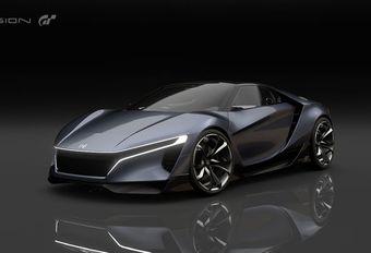 Honda Sports Vision Gran Turismo: virtuele sportwagen #1