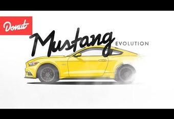 Evolutie van de Ford Mustang in 2 minuten #1