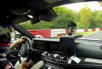 Mercedes E Break 63 S AMG : Record sur le Nürburgring ! #1