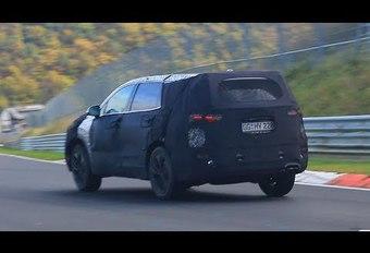 Hyundai: toekomstige Santa Fe rijdt eerste kilometers #1