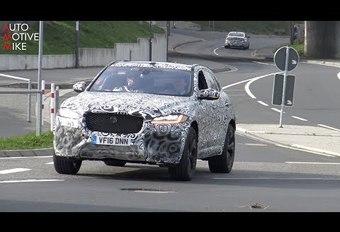 VIDÉO - Jaguar F-Pace : la déclinaison « SVR » enflamme déjà le Ring ! #1