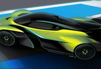 Aston Martin Valkyrie AMR Pro: circuitversie #1
