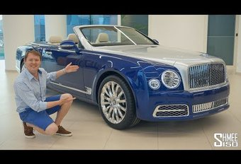 VIDEO – Bentley Grand Convertible: duur plekje in de zon #1