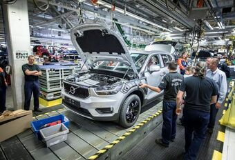 Volvo XC40 : début de la production à Gand #1