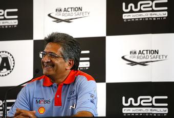 Hyundai WRC-baas Michel Nandan: