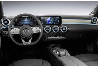 Mercedes A-Klasse: interieur onthuld #1