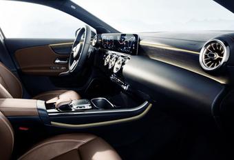 Bekijk het interieur van de nieuwe Mercedes A-Klasse #1
