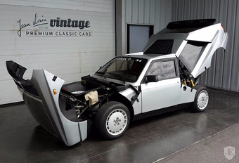 Lancia Delta S4 Stradale is een peperdure Groep B-held #1